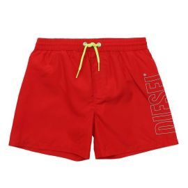 Short de bain junior DIESEL MBXSANDY 00J4RJ 0EAXX K434 rouge