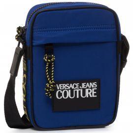 Saccoche Versace bleu E1YVBB03
