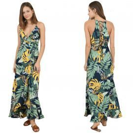 Robe tropical Molly bracken LA70BE20 NAVY