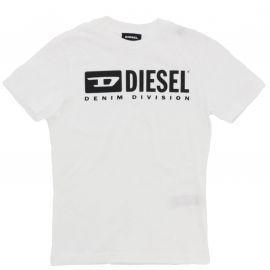 Tee shirt Diesel enfant blanc 00J4P9 00YI9 K100