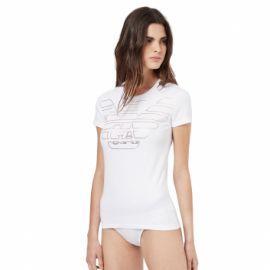 Tee shirt et culotte ARMANI blanc et or