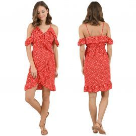 Robe molly Bracken rouge LA380P20