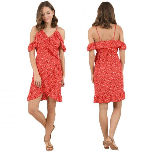 Nouvelle Robe Molly Bracken Rouge La380p20