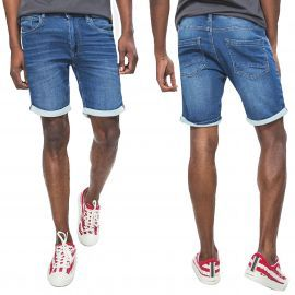 Short joggjeans blend bleu 20703311