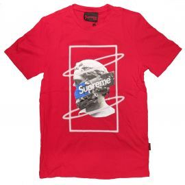 Tee shirt GREECE rouge grip CM20-10243-TPR-19-003 GRE