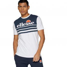 Tee shirt ellesse VIERRA bleu et blanc SHF09098