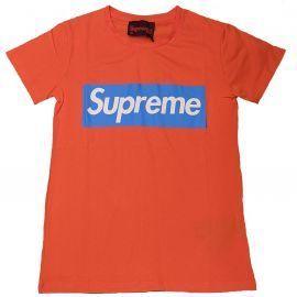 Tee shirt femme grip Lifestyle orange SOFY CM20016-TPR19-016