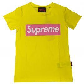 Tee shirt femme grip Lifestyle jaune SOFY CM20016-TPR19-004