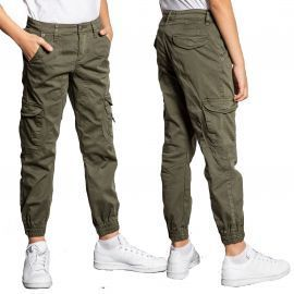 Pantalon cargo enfant kaki GARDEN S207017B