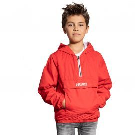 Veste enfilable enfant ELECTRIC deeluxe rouge S20607B