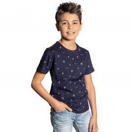 Tee shirt junior bleu marine MEXICO S20113B