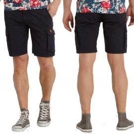 SHORT H 20709737 BLEU NAVY