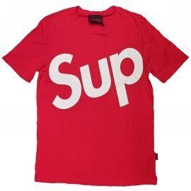 Tee shirt CLASS rouge et blanc SUP CM20-10260-TPR-19-003