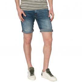 Short en jean homme délavé bleu blend