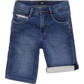 Short junior hugo boss en jeans bleu
