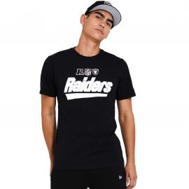Tee shirt Raiders noir 12369677 NEW ERA