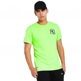 Tee shirt Yankees vert fluo 12369820 NEW ERA