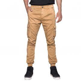 Pantalon cargo camel homme GARDEN Deeluxe