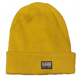 Bonnet Gstar RAW jaune SRT9007
