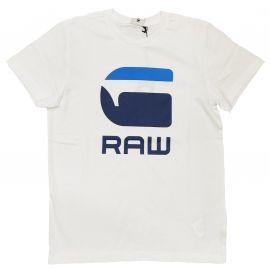 Tee shirt Gstar raw junior blanc OTR10026