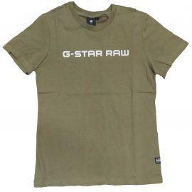 Tee shirt Gstar Raw kaki SR10016 56