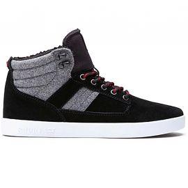 Basket Supra bandit gris et noir S39041