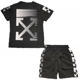 Ensemble short et tee shirt C130-1 BOOM KIDS