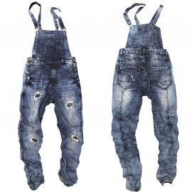 Salopette en jean pour homme