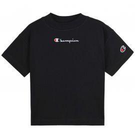 Tee shirt fille champion croc top noir 403940