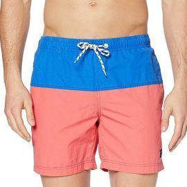 Short de bain homme bleu et rose 20708108 BLEND