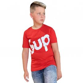 Tee shirt lifestyle rouge CLASS