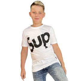 Tee shirt lifestyle blanc CLASS