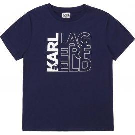 Tee shirt KARL LAGERFELD bleu marine Z25253