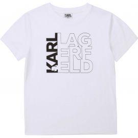 Tee shirt KARL LAGERFELD BLANC Z25253
