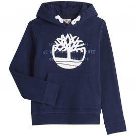 Sweat à capuche en molleton bleu marine Timberland T25R40