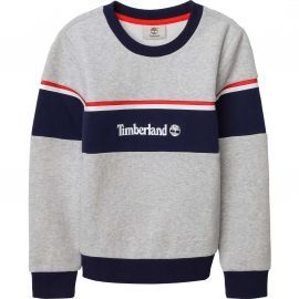 Sweat timberland col rond rétro T25R38 GRIS CHINE