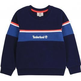 Sweat timberland col rond rétro T25R38 bleu marine