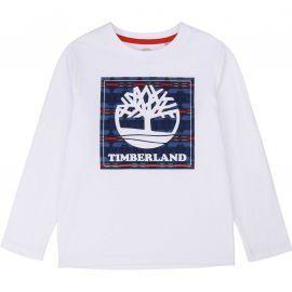 Tee shirt TImberland manche longue blanc T25R20 BLANC