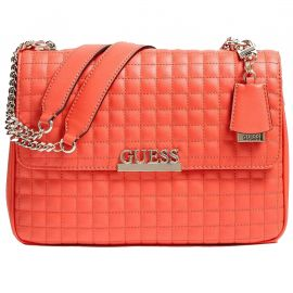 Sac à main guess rouge clair VG774020