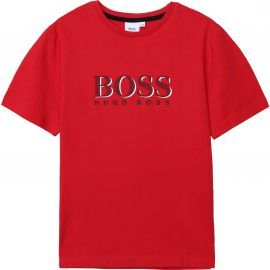 Tee shirt HUGO BOSS rouge J25G24