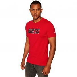 Tee shirt GUess homme rouge MOYI9