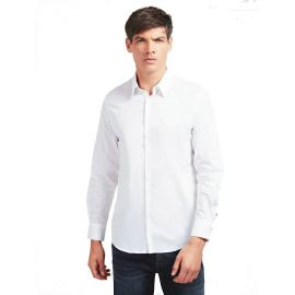 Chemise Guess pour homme blanche MOBH20W7ZKO