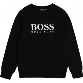 Sweat Hugo Boss col rond noir J25G88