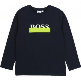 Tee shirt manche longue Hugo boss bleu marine J25G32
