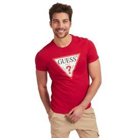 Tee-shirt GUESS homme M0BL71L3Z11 rouge