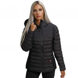 Veste chauffante femme noir VANCOUVER CDL Comme Des Loups