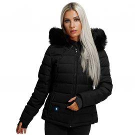 Blouson chauffant femme noir BUDAPEST CDL Comme Des Loups
