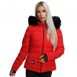 Blouson chauffant femme rouge BUDAPEST CDL Comme Des Loups