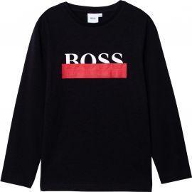 Tee shirt manche longue Hugo boss noir J25G32