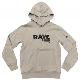 Sweat G STAR RAW gris clair OTR SR15086